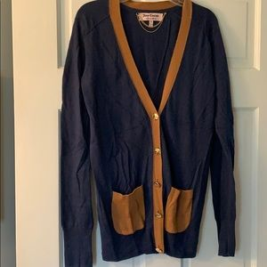 Juicy Couture cardigan. XS. Cotton/wool blend.